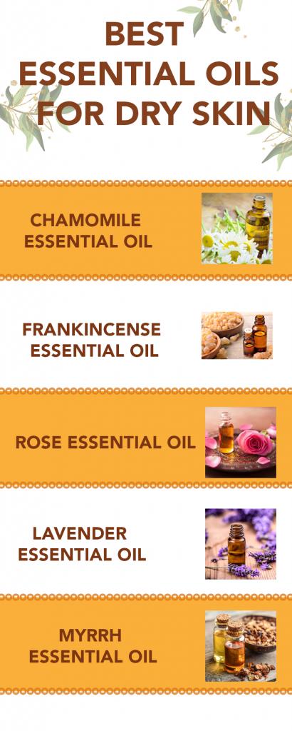 essential oisl for dry skin