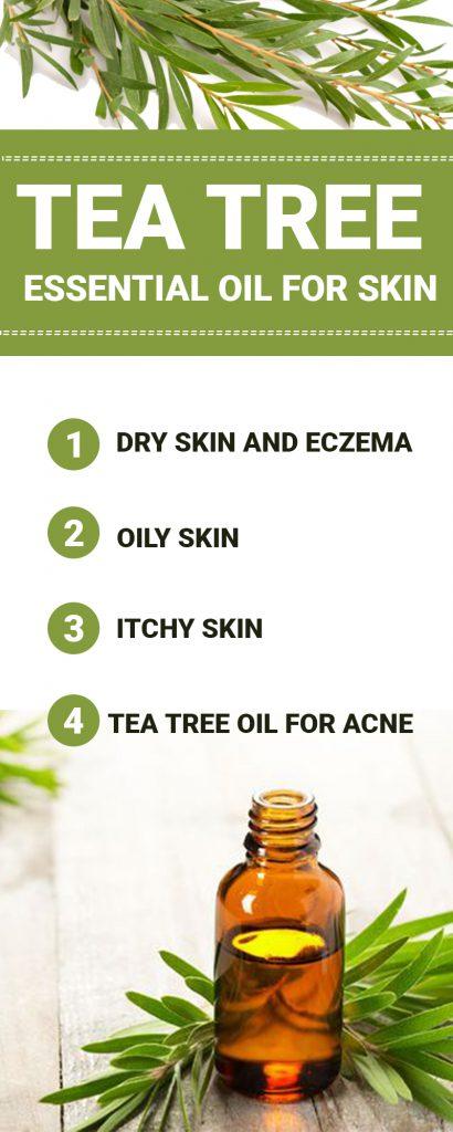 tea tree essential oil for skin