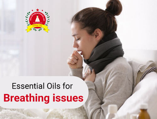 best essential oils for breathing issues