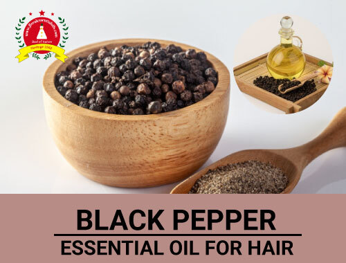 black pepper essential oil for hair