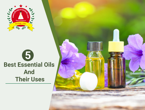 5 best essential oils and their uses