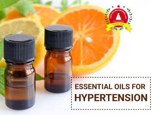 essential oils for hypertension
