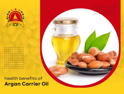 benefits of argan carrier oil