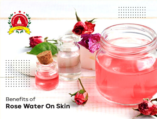 benefits of rose water on skin
